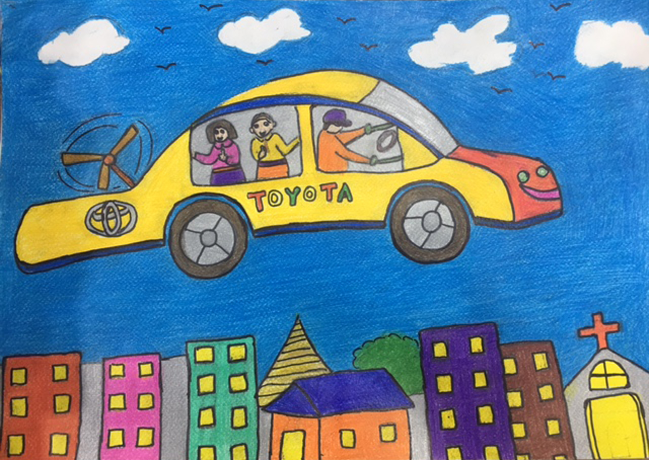 Toyota Dream Car Art Contest Winner S Artwork 2017 Toyota